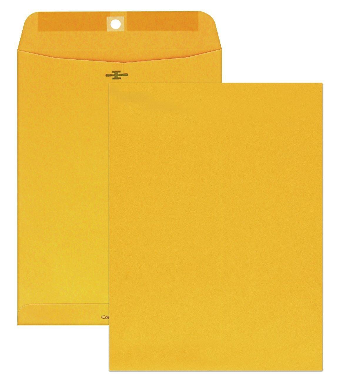 VARIOUS SIZES Envelope Mailing Shipping Kraft Manila Brown Yellow Paper Business