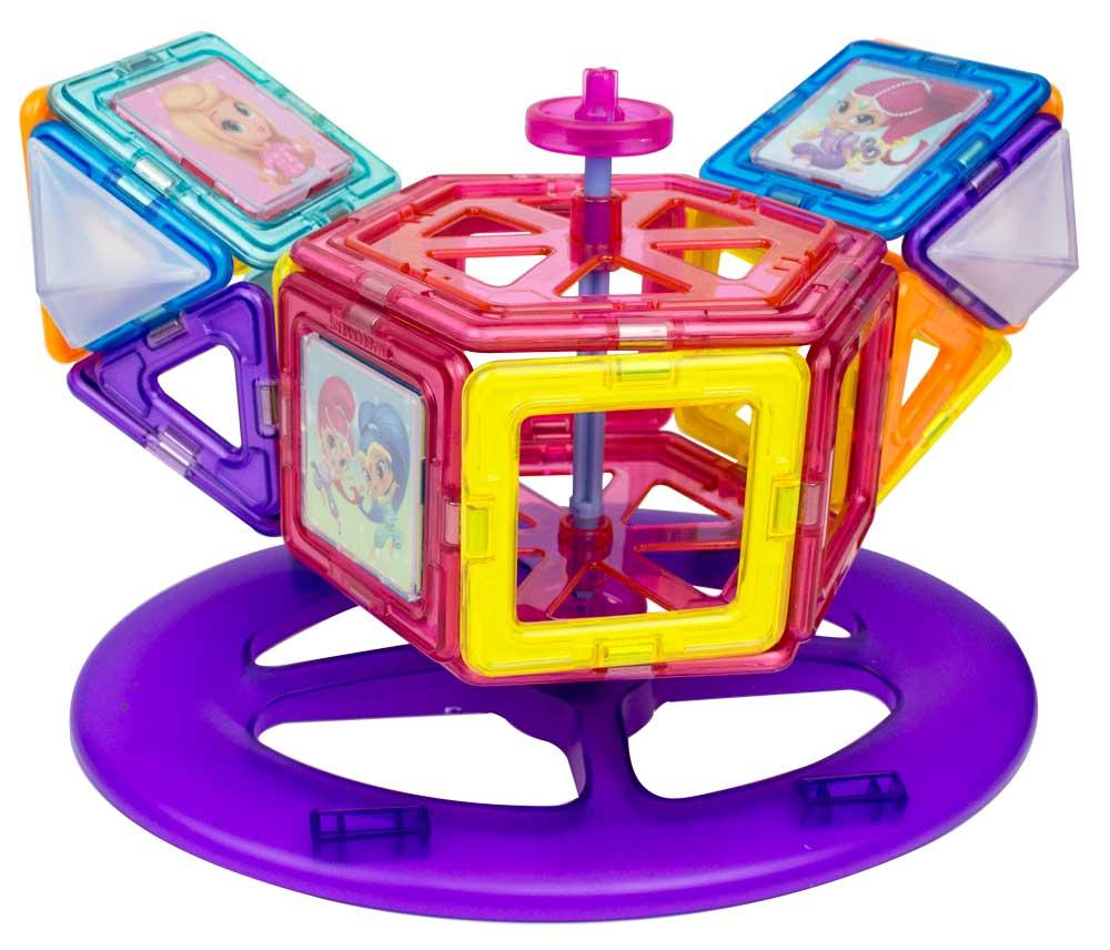 Carnival Toy Box Pink: Amazon.com: Magformers Shimmer And Shine Carnival 64