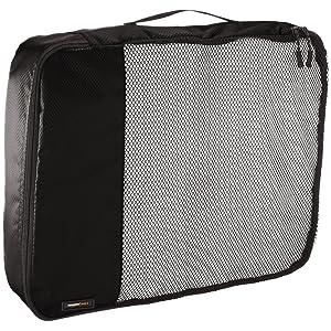 AmazonBasics Packing Cubes - Large, Gray (4-Piece Set)