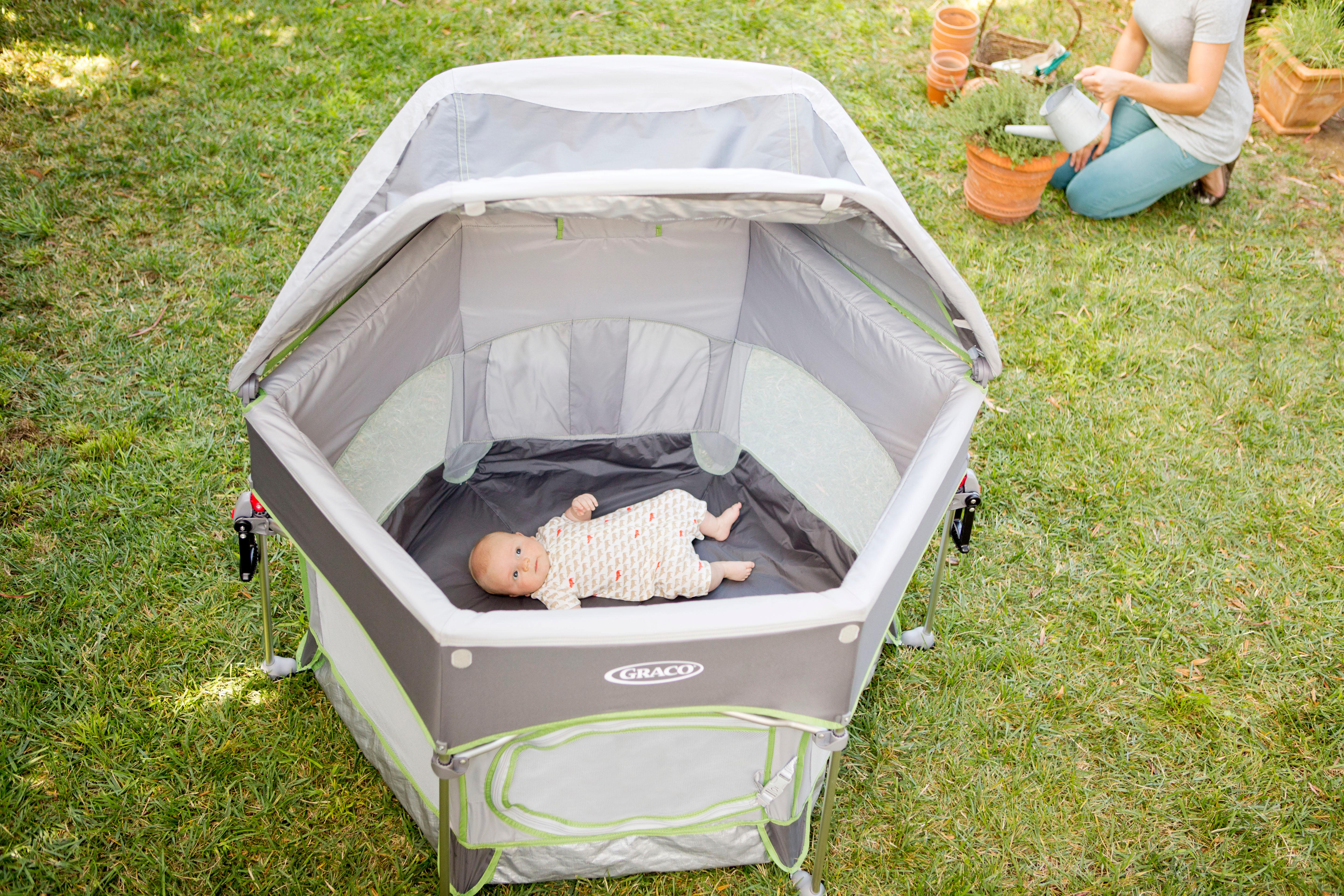 Playpens & Play Yards Baby Search For Flights Graco Sport Travel Playyard Pack And Play W Canopy High Safety