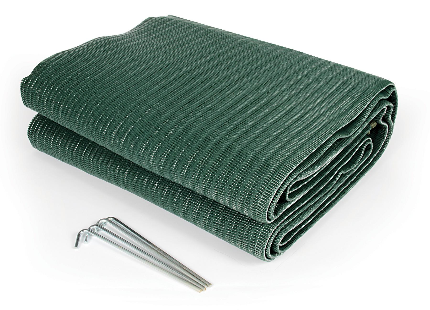 Amazon.com: Camco 42880 Reversible Awning Leisure Mat-6' X ...