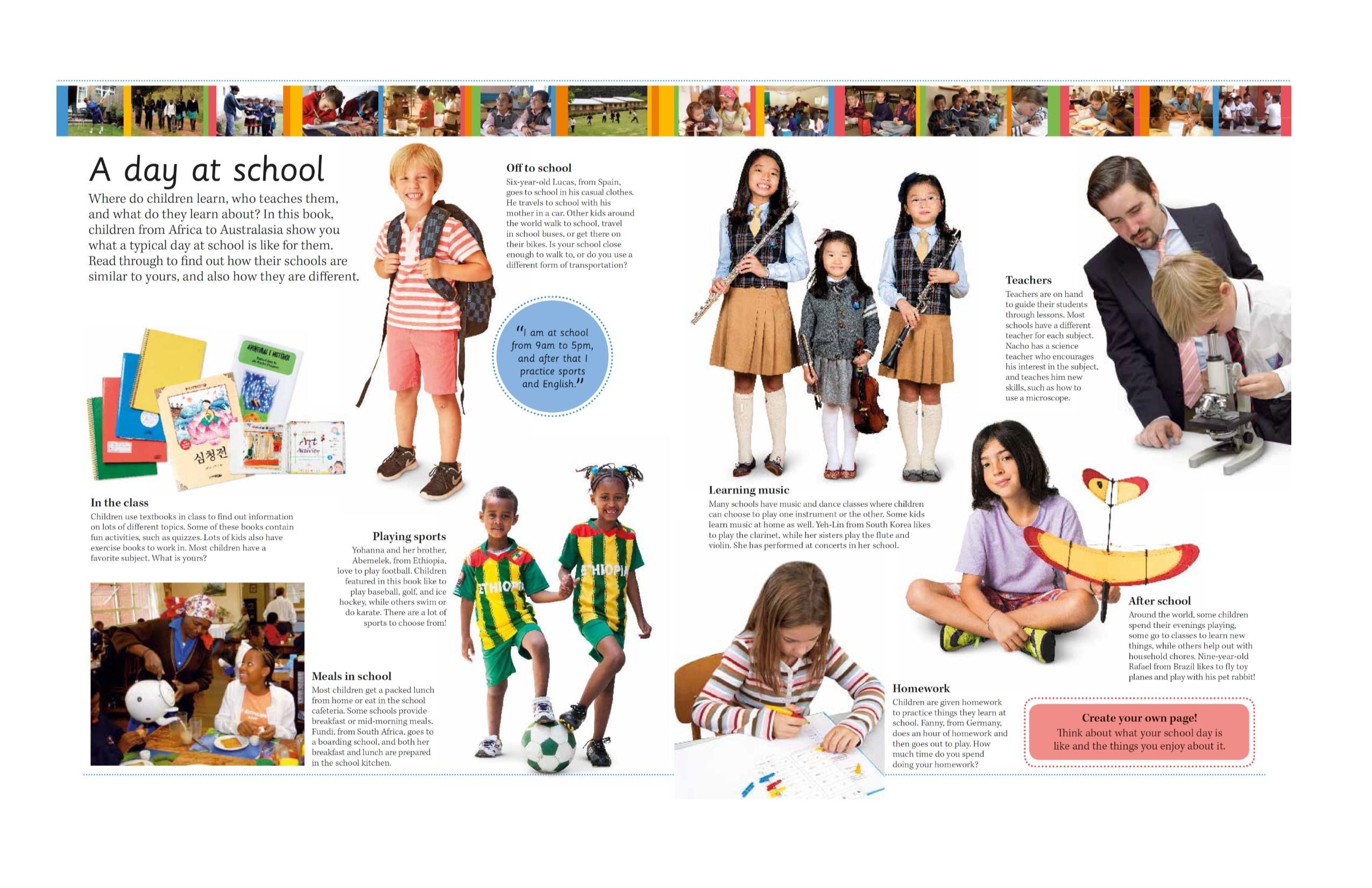 ceed76b2ddaa Children Just Like Me  A School Like Mine  A Celebration of Schools ...
