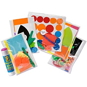 Kit Includes 150 Stickers And Shapes
