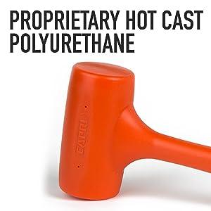 Orange PU Capri Tools CP10099 4 lb Deadblow Hammer