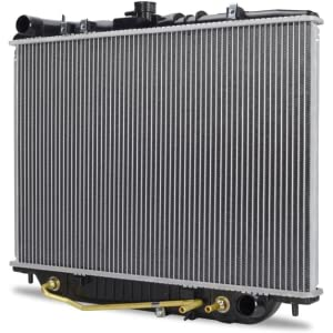 Mishimoto R1998-AT Toyota 4Runner Replacement Radiator Silver 1996-2002
