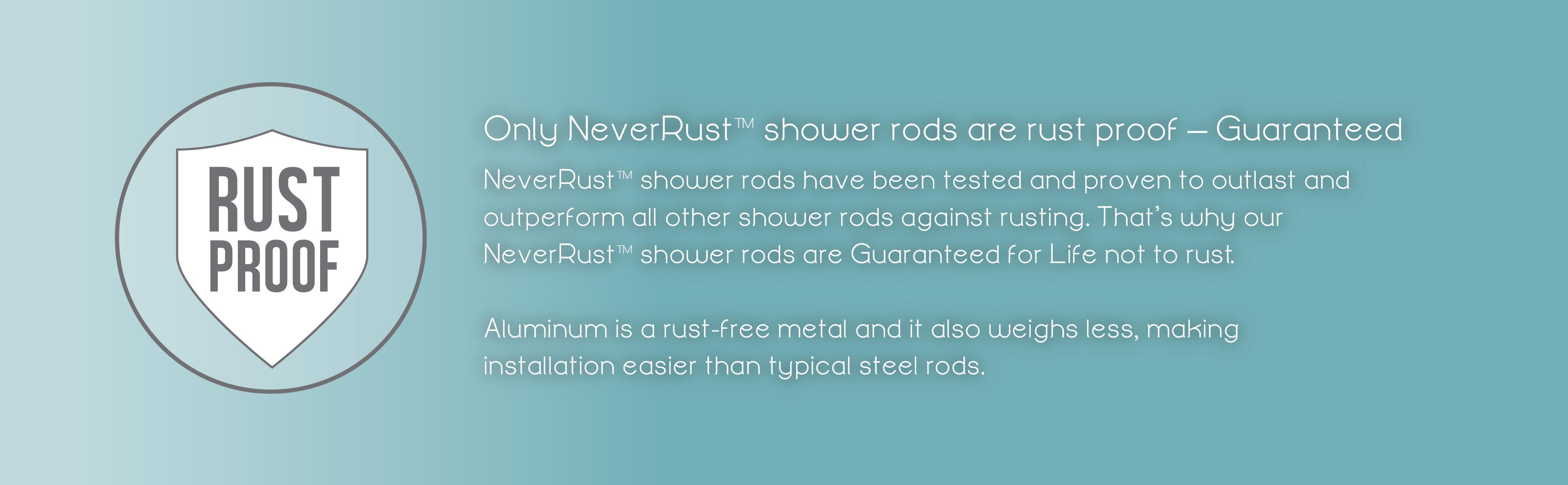 zenith shower rod installation instructions