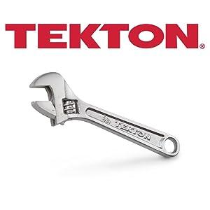 TEKTON 23001 4-Inch Adjustable Wrench
