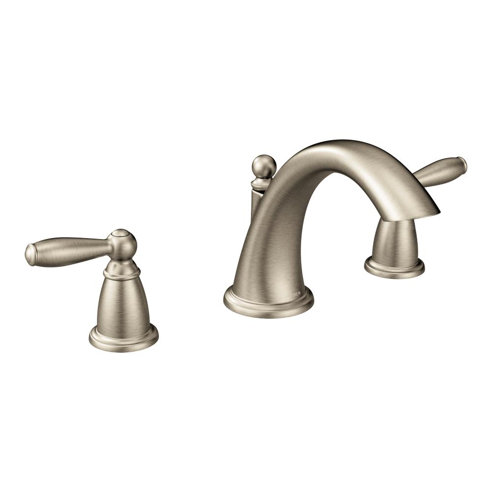 Moen T4943bn Brantford Two Handle Low Arc Roman Tub Faucet Without