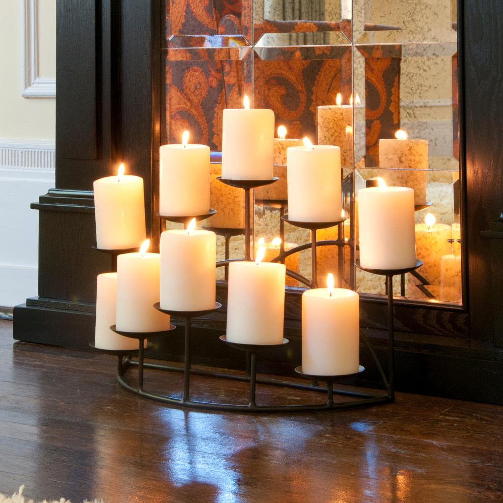 Amazon Com Sei Southern Enterprises 10 Candle Candelabra Matte