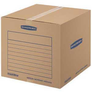 Amazon.com: Bankers Box SmoothMove cajas de cartón ...