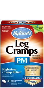 Hyland's leg cramps PM, tablets, nighttime, muscle cramp