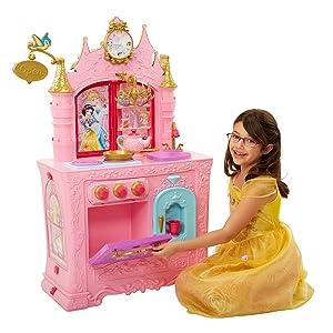 Amazon Com Disney Princess Royal 2 Sided Kitchen Caf Toys Games