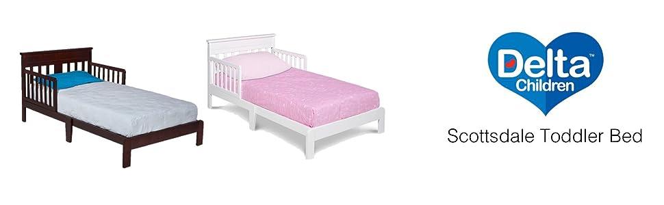 Delta Children Scottsdale Toddler Bed White Amazon Ca Baby