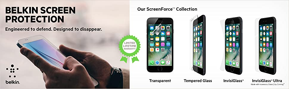 Belkin Screen Protection: Complete Collection