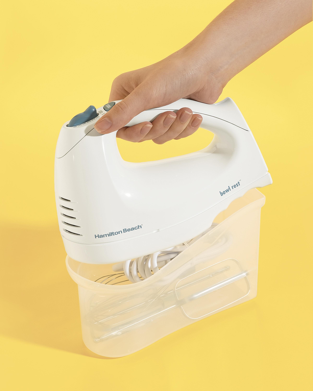 Hamilton Beach 62682RZ Hand Mixer with SnapOn Case White Amazon