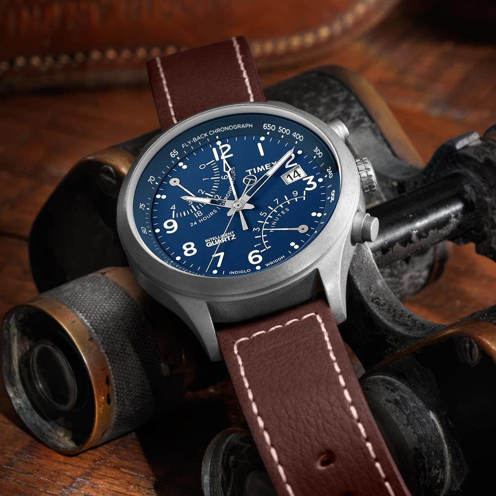 f20f66a4daf6 Amazon.com  Timex Men s T2N700 Intelligent Quartz Fly-Back ...