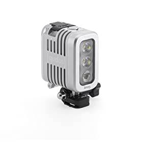 qudos action video light for gopro and dslr''s
