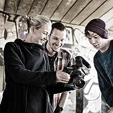 Sennheiser MKE 440 Professional Stereo Shotgun Microphone, Black (MKE 440)