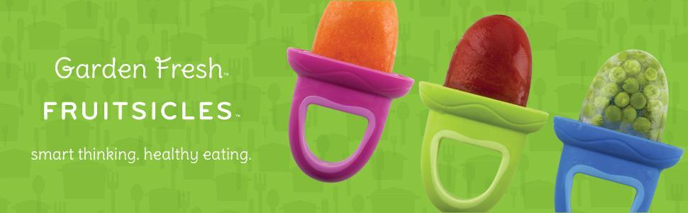 Amazon.com: Bandeja para paletas de hielo Nuby de frutas ...