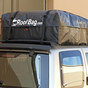 Amazon.com: RoofBag Rooftop Cargo Carrier Bag  Made in USA  15 cu ...