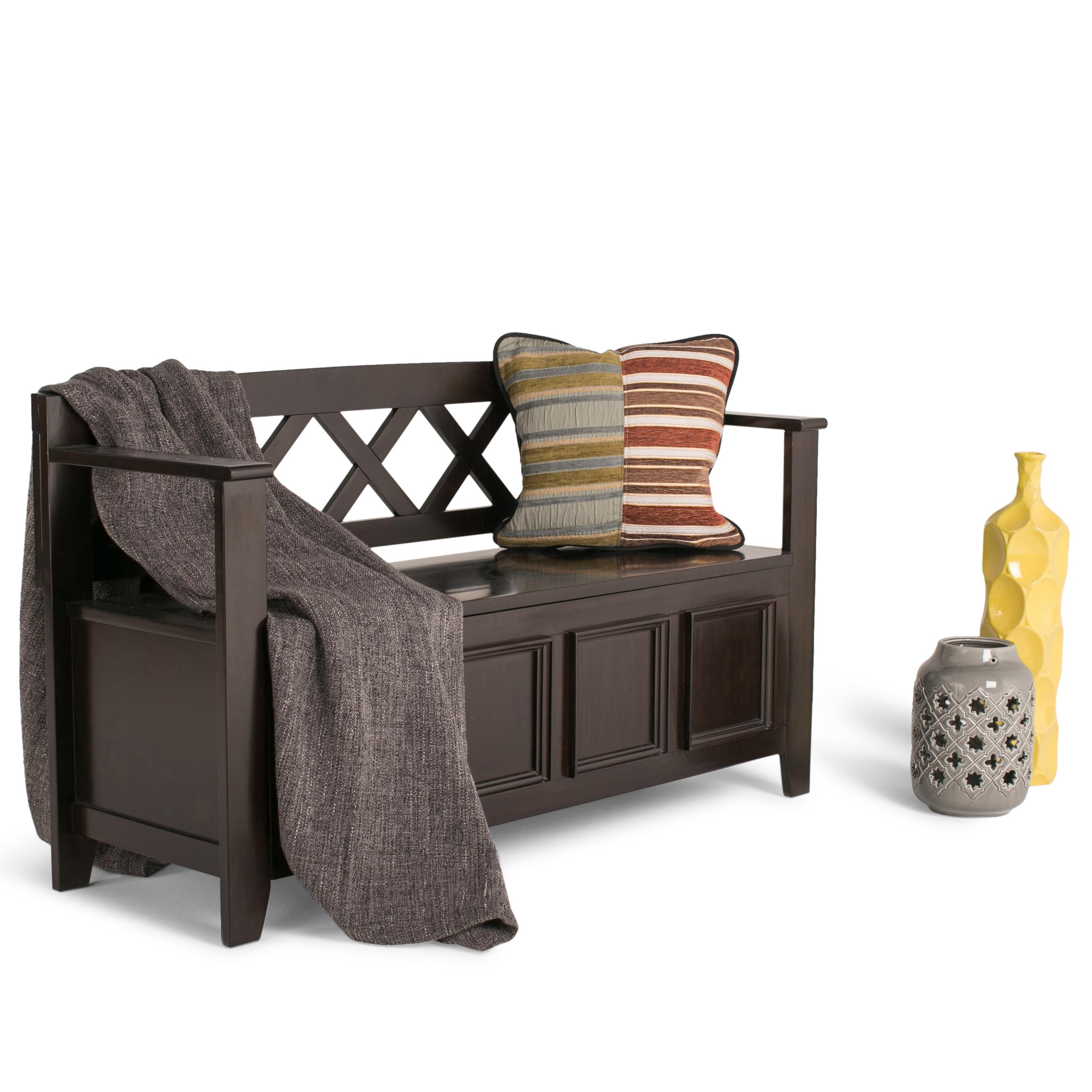 Amazon Com Simpli Home Amherst Solid Wood Entryway