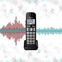 Panasonic KX-TGE445B Noise Reduction