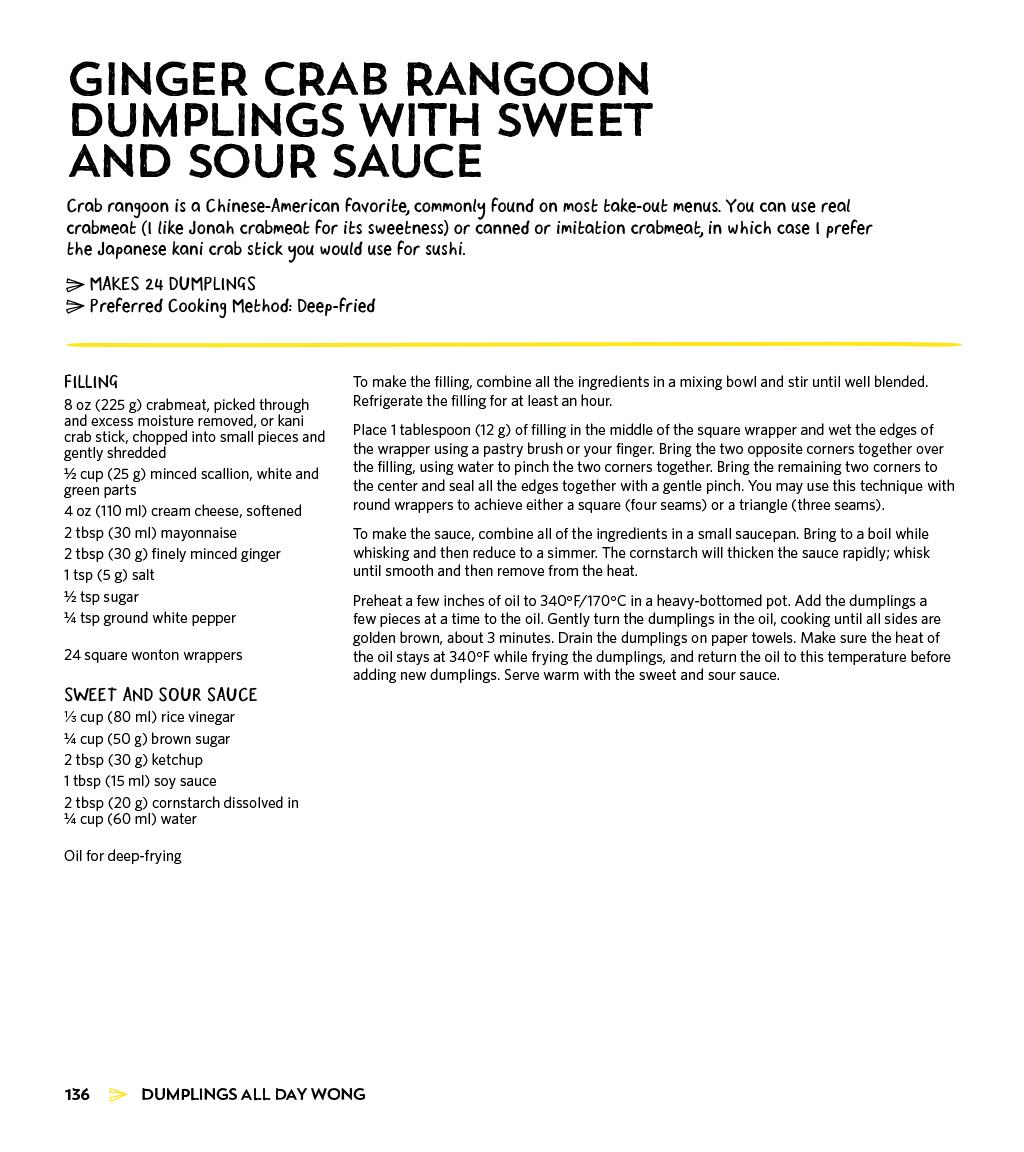 Dumplings All Day Wong: A Cookbook of Asian Delights From a Top Chef ...