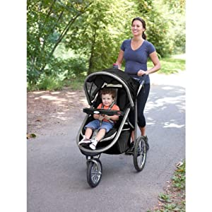 Lightweight combination stroller