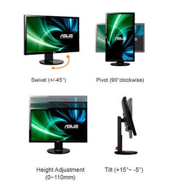 Asus Vg248qe 24 Inch Led Lit Monitor 144hz Refresh Rate