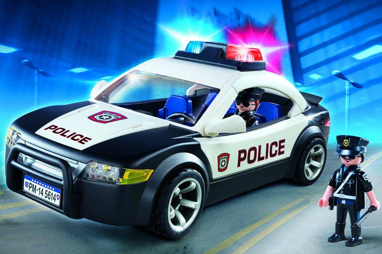 Playmobil Police Cruiser Playsets Amazon Canada