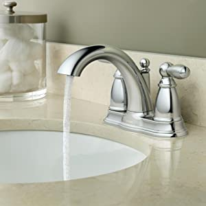 Moen Bathroom Faucets - Aerated Stream for Everyday Cleaning