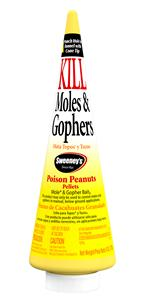 Mole and Gopher Poison Peanuts Bait