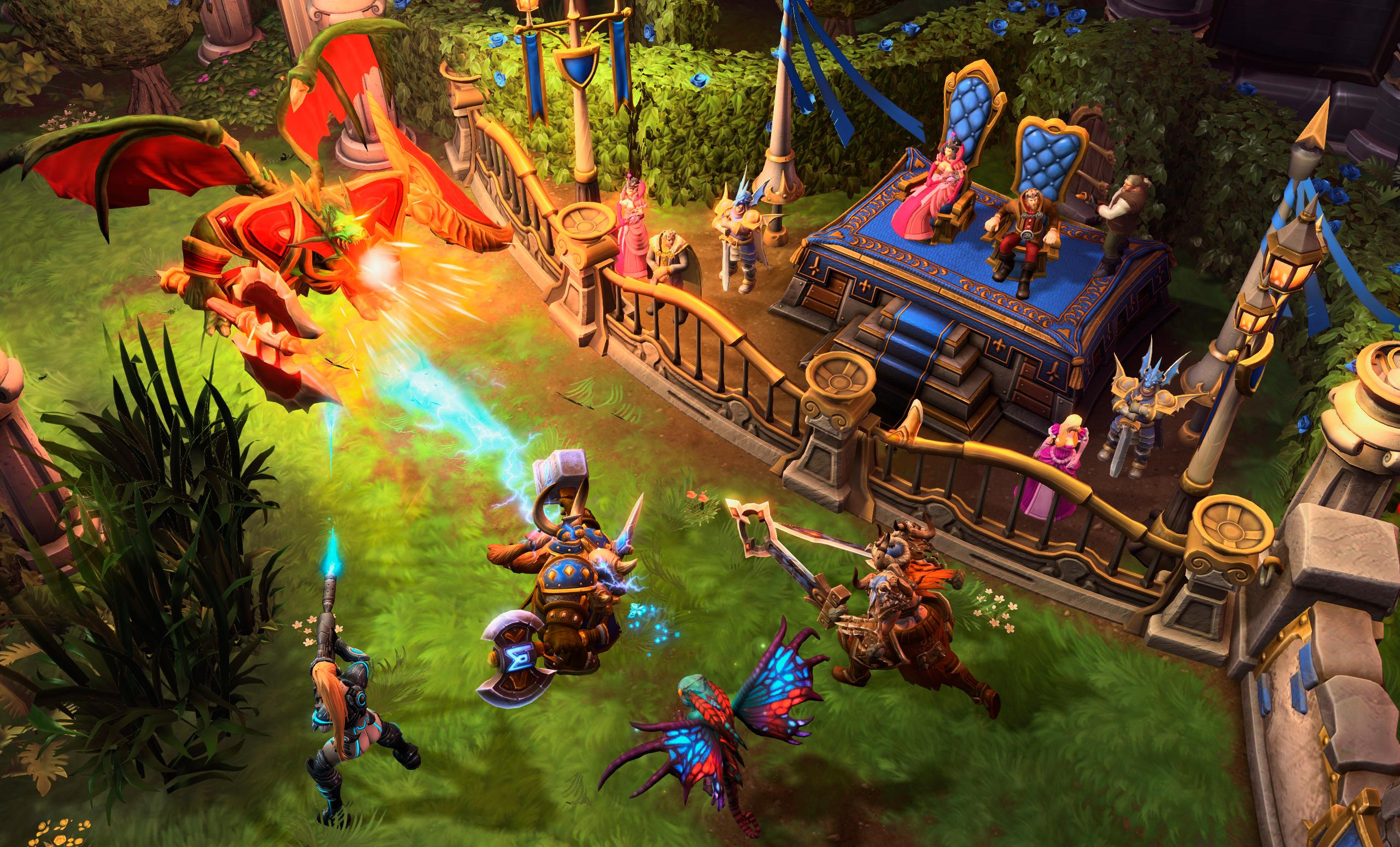 Amazon.com: Heroes of the Storm - PC/Mac: Video Games