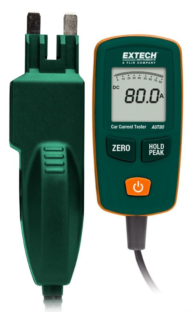 Extech Aut30 Automotive 30a Current Tester With Atc