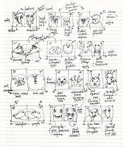 sketch, book, creature features