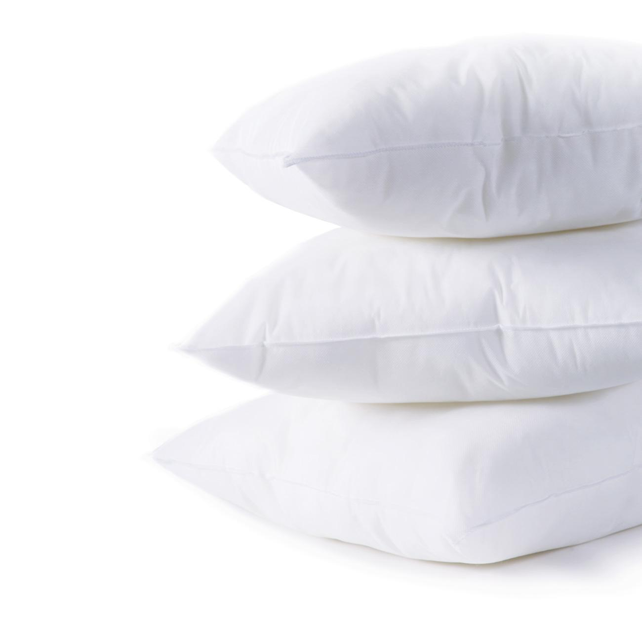 pillow down square inserts feather forms