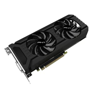 PNY GeForce GTX 1060 6GB Graphics Card (VCGGTX10606PB)