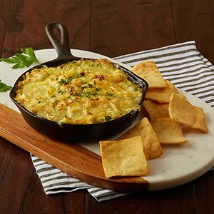 Stacy's baked spinach hummus dip recipe