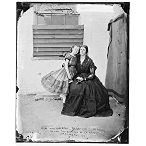 Confederate Spy Rose O''Neal Greenhow & her daughter Little Rose 1863