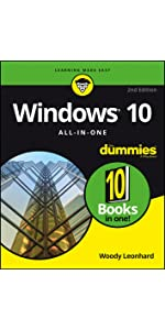 Windows 10, Windows 10 For Dummies, Windows 10 Anniversary Update