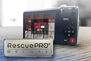 Easy File Recovery with RescuePRO Deluxe Software