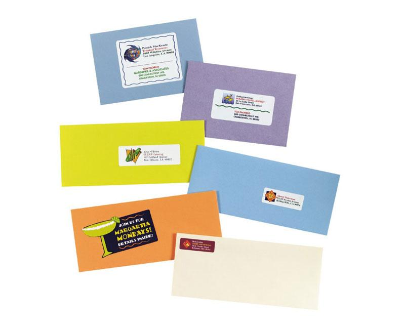 Amazon Avery White Laser Labels For Color Printing 3 4 X 2 1