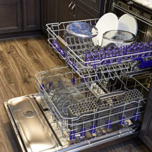 anchor hocking; glass; party bowl; trifle bowl; salad bowl; dessert bowl; dishwasher safe; top rack