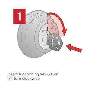 Kwikset 99110 009 Smartcode Electronic Lock With Tustin