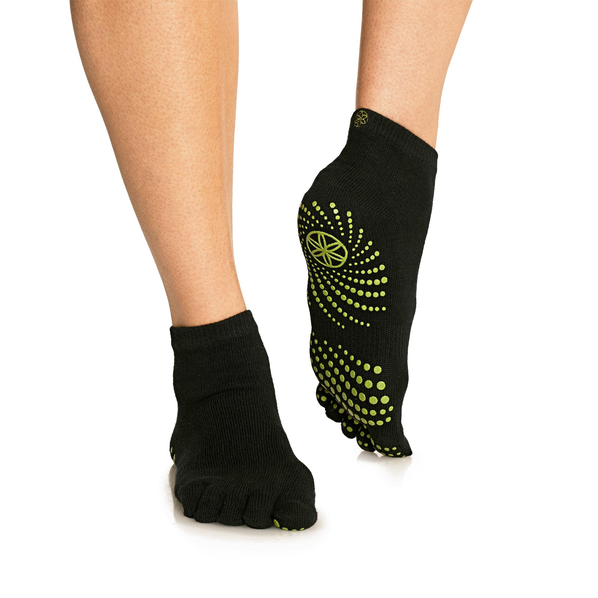 Gaiam Grippy Yoga Barre Socks |