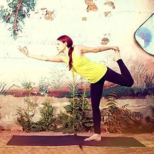 Amazon.com : Natural Fitness Premium Warrior Yoga Mat Made