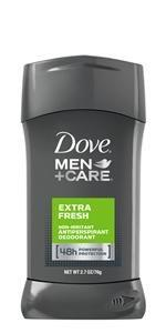 Dove Men+Care Antiperspirant Deodorant Stick Extra Fresh