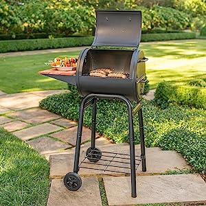 Amazon Com Char Griller E1515 Patio Pro Charcoal Grill Black