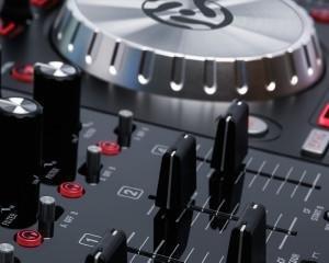 Numark NV, 4 deck dj controller, four deck dj controller