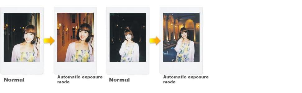 Auto Exposure;Mini 70;Instax;Polaroid